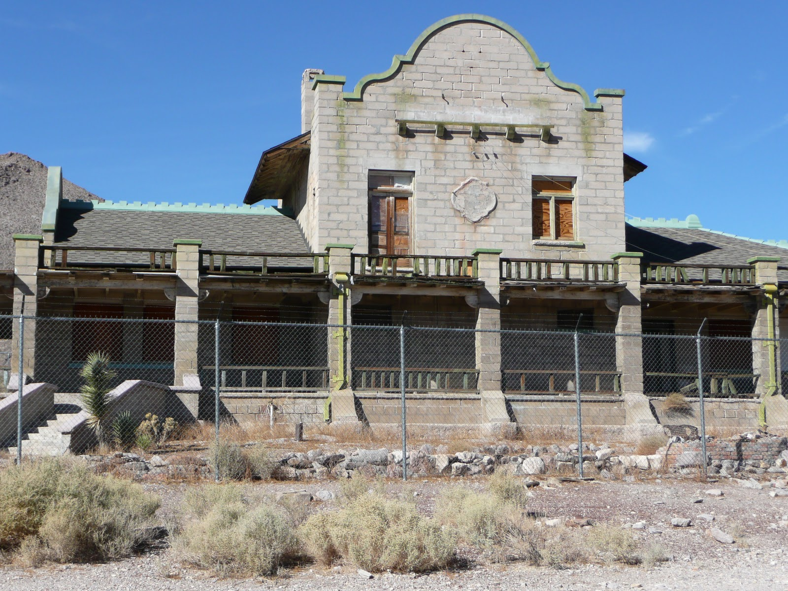 Life at 55 mph ghost town rhyolite nevada click here for more info