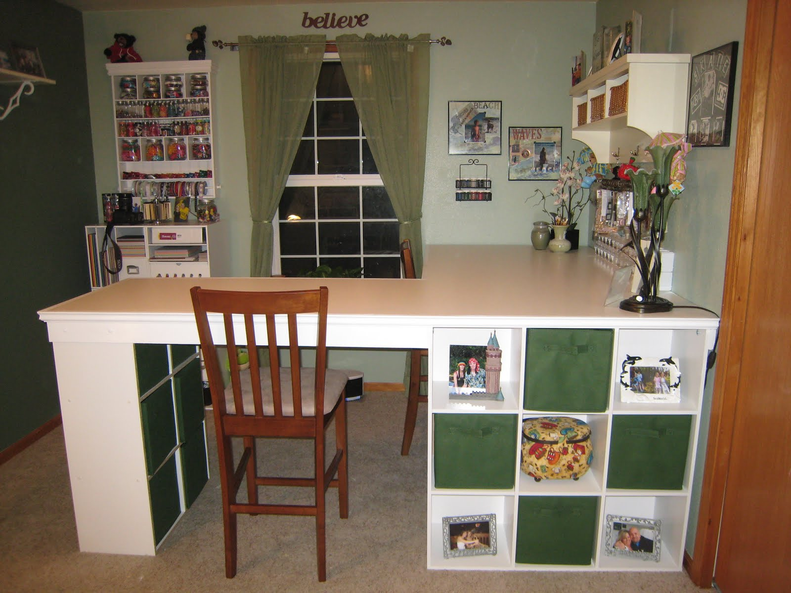 do it yourself office desk. HOW TO BUILD A CUSTOM CRAFT DESK Do It Yourself Office Desk