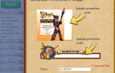 New Pet Code for Wizard101