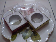 Transparent single cup cake box XL size