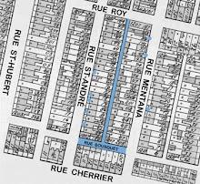 Carte de l'installation   Map of the installation