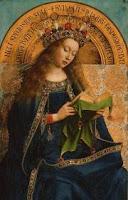 Virgen del retablo de Gante