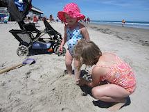 Running Barefoot Beach Day