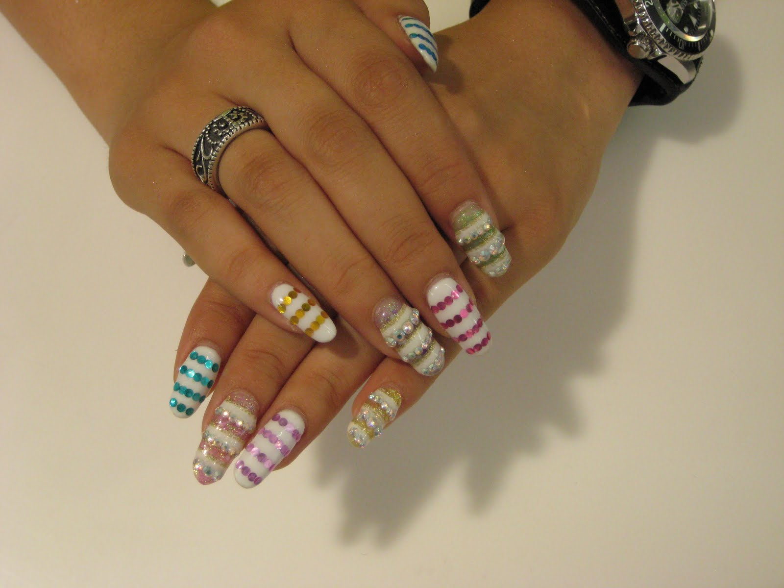 Nails expo ~ Beautify themselves with sweet nails