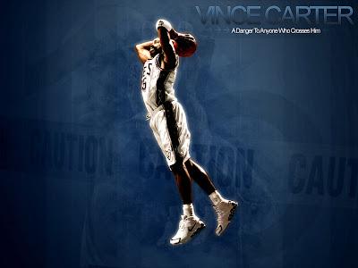 vince carter wallpaper raptors. Vince+carter+dunk+nets