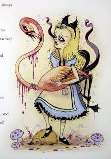 Camille Rose Garcia's Alice