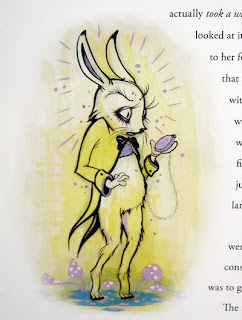 Camille Rose Garcia's White Rabbit