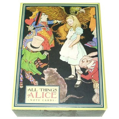 alice in wonderland cartoon cards. Some good Alice Party items: