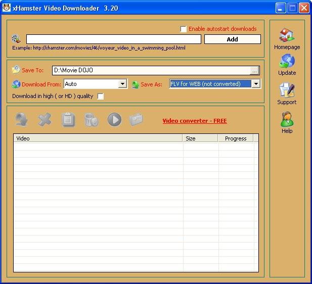 Free xHamster Video Downloader Freeware Download