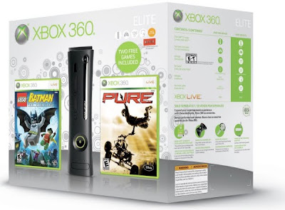 New Xbox 360 ELITE now Bundled With Wireless Controller Game Pack