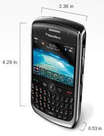 BlackBerry Javelin Curve 8900, Review, Specification, Price