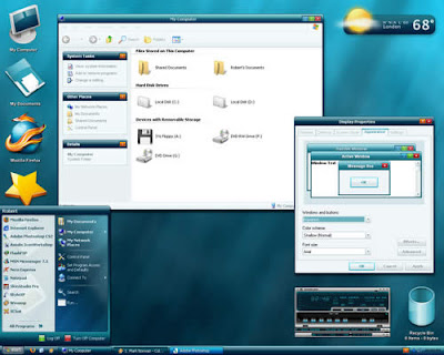 Windows XP Themes Free Download - Aquanox