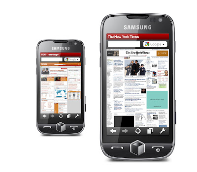 Free Download Opera Mobile 10 for Samsung, Sony Ericsson Phones (Symbian/S60)