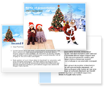 free christmas holiday templates for powerpoint download