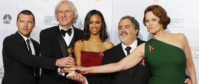 Avatar gana dos Globo de Oro 2010