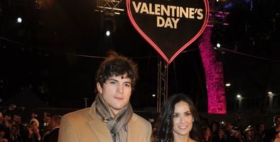 Ashton Kutcher y Demi Moore no celebran el día de San Valentín
