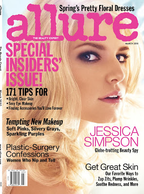 Jessica Simpson – Allure Magazine (March 2010)