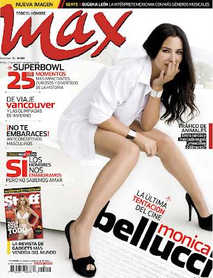 Monica Bellucci en la Revista Max (Febrero 2010)