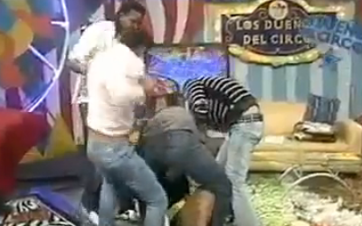 Autoridades dominicanas suspenden programa de televisión luego de trifulca