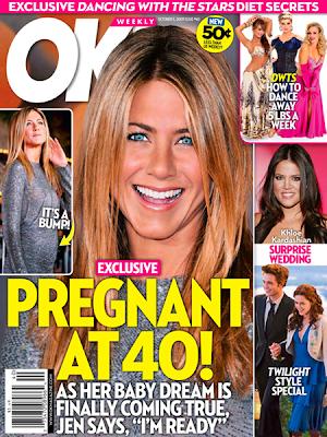 Jennifer Aniston está embarazada