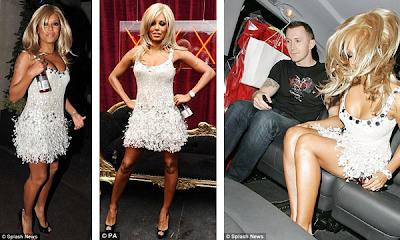 Mel B disfrazada de Pamela Anderson