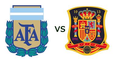 Amistoso - Argentina vs España en Vivo - 7 Septiembre 2010