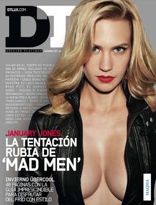 January Jones DT España - Octubre 2010