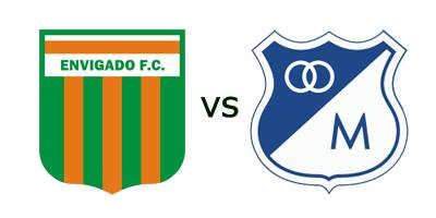 Ver Partido Envigado FC vs Millonarios en VIVO