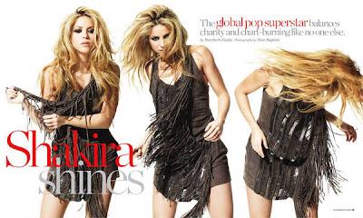 Shakira en la Revista Ocean Drive