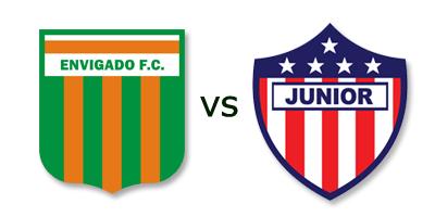 Envigado vs Atletico Junior en VIVO