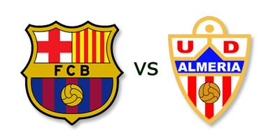 FC Barcelona vs Almeria en VIVO