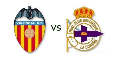 Valencia vs Deportivo La Coruña
