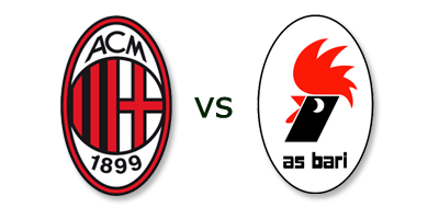 AC Milan vs AS Bari en VIVO