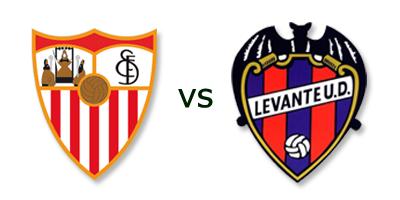 Sevilla FC vs Levante UD en VIVO