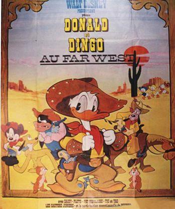 Cinema palace d 39 equeurdreville les annees 70 programme du - Donald et dingo ...