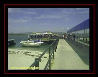 Ferry boat to Armona Island