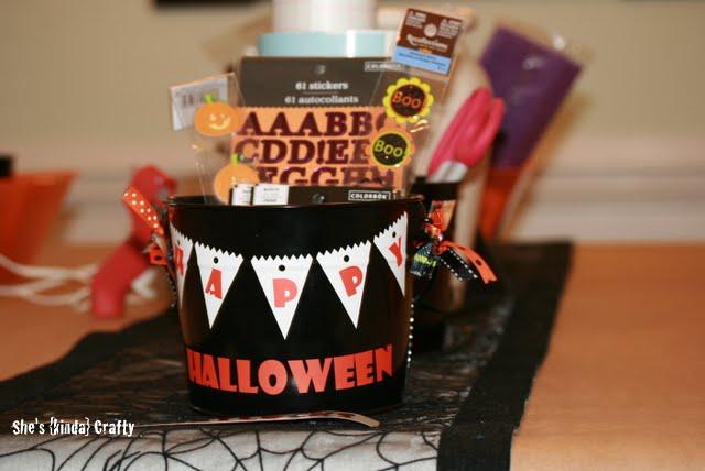 Personalized Halloween Buckets