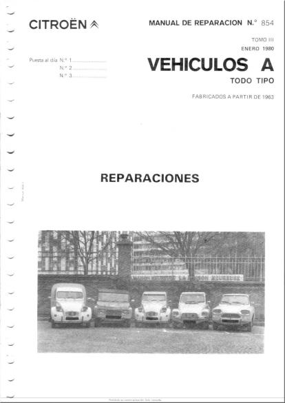 mec nica virtual manuales 854 para citroen 2cv 3cv dyane y mehari rh mecanicavirtual com ar manual de despiece citroen 2cv manual de despiece citroen 2cv