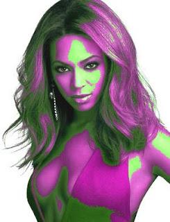 Beyonce and Warhol