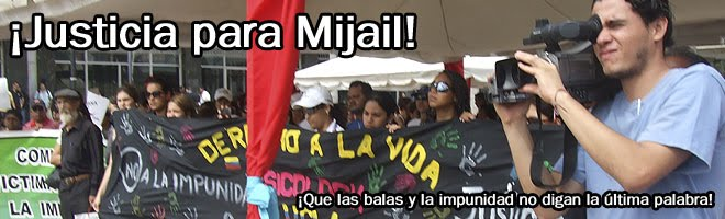 Justicia para Mijaíl Martinez