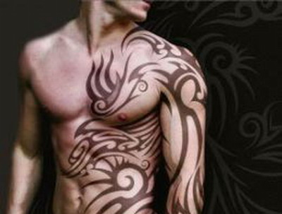 tattoos on arm tribal. tribal tattoos for men arms.