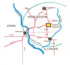 Map to HGOH
