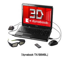 Dynabook TX/98MBL Laptop 3D Terbaru Dari Toshiba