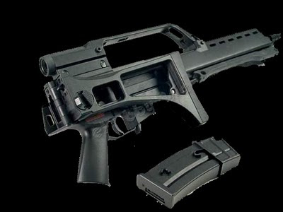 gambar wallpaper senjata Assault Rifle G36C point blank