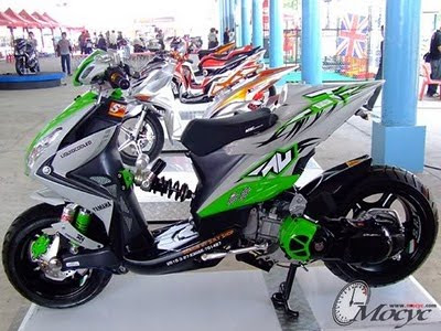 Photo of Modifikasi Yamaha Xeon