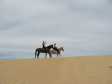 Rückweg durch die Wüste