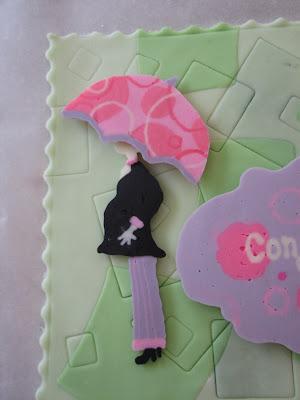 Cake Hell Baby Shower Ubrella Topper