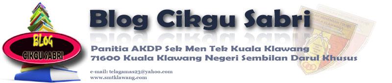 Blog Cikgu Sabri