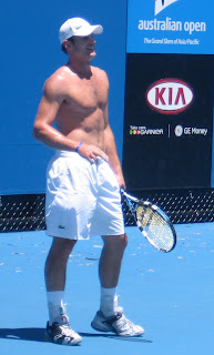 Andy Roddick shirtless