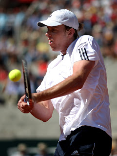 Sam Querrey in the bullring